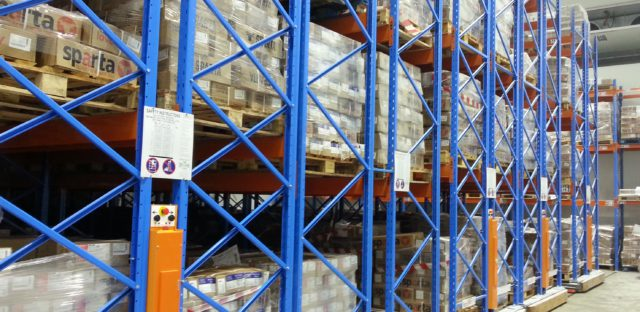 Sparta Foods with Storax Mobile Racking