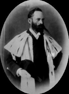 A photograph of Sir David Graaff, 1st Baronet taken between 1882-1897.