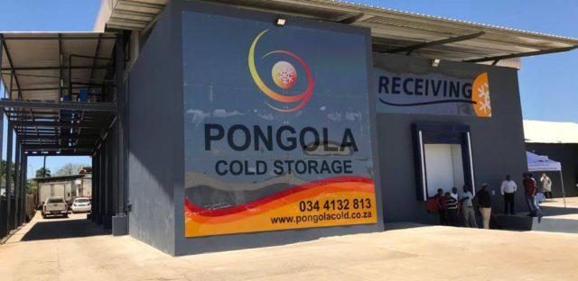 New Pongola Cold Storage facility, Pongola cold store