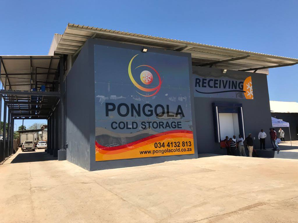 New Pongola Cold Storage facility, Pongola cold store