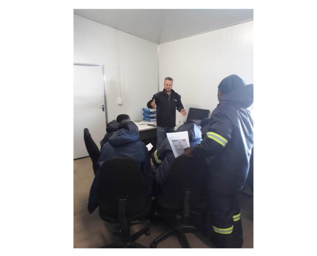 Barpro Storage Handover and training session