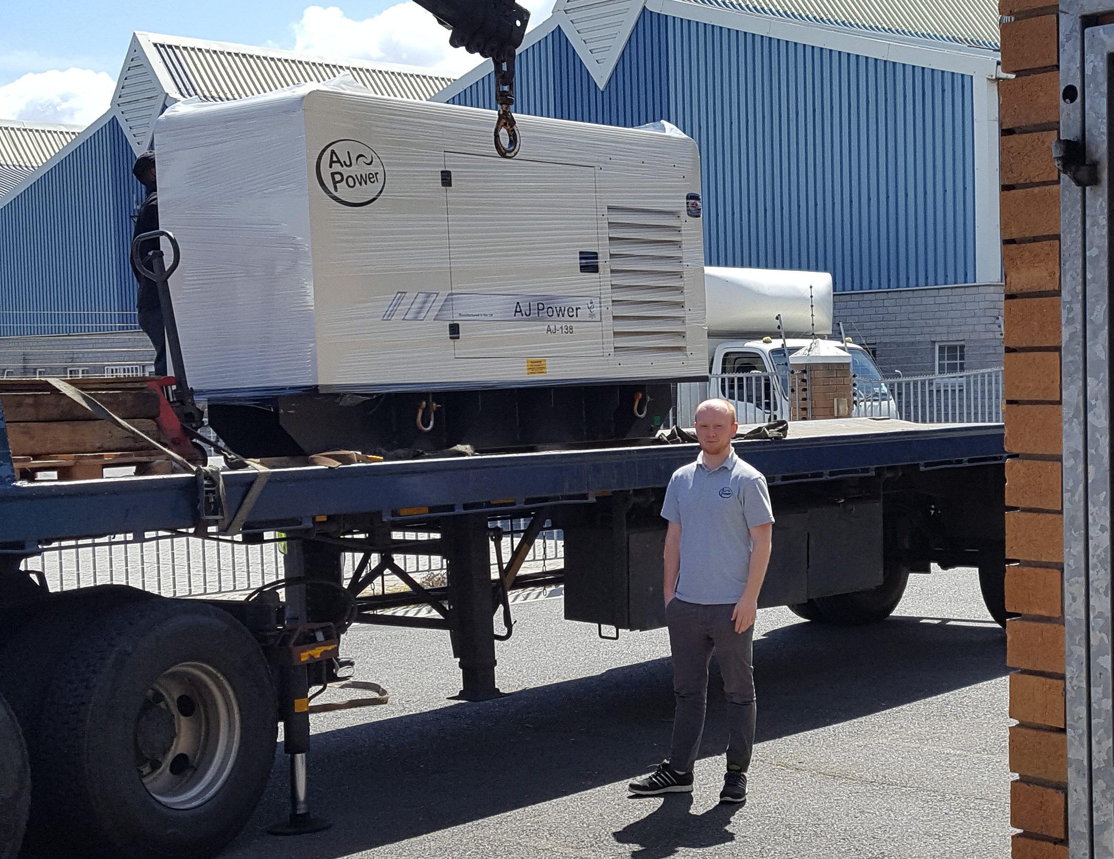 Barpro buys new generator
