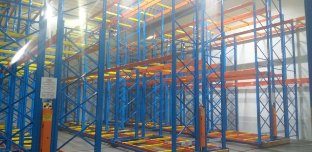 Storax mobile racking